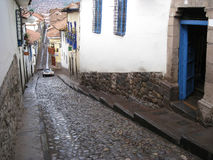 cusco秘鲁 库存照片