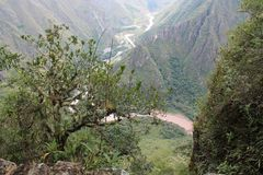 Cusco ιχνών inca καταστροφών Inca Στοκ Εικόνες