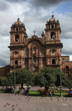 cusco Περού καθεδρικών ναών στοκ εικόνα με δικαίωμα ελεύθερης χρήσης