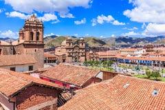cusco Περού Στοκ Εικόνες