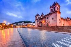 Cusco, Περού - Plaza de Armas Στοκ φωτογραφία με δικαίωμα ελεύθερης χρήσης