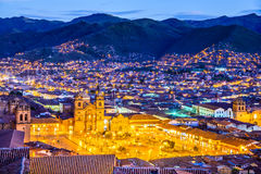 Cusco, Περού - Plaza de Armas Στοκ Φωτογραφία