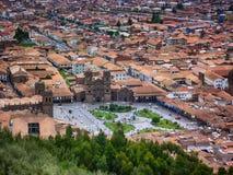 Главная площадь Cusco стоковое изображение