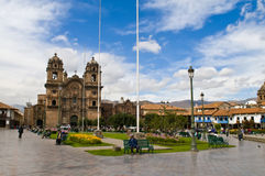 Cusco Royalty Free Stock Photo