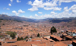 cusco Royaltyfri Foto