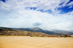 Cusco airport Stock Photos