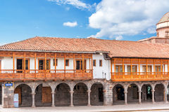 Cusco Architecture Royalty Free Stock Images