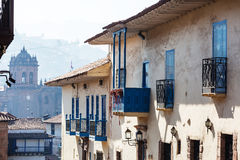 Cusco. Beautiful famous Cusco city in Peru Royalty Free Stock Images