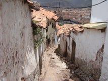 Cusco bystreet 库存图片