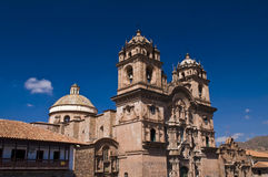 Cusco Cathedral Royalty Free Stock Photo