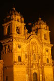 Cusco cathedral Stock Photography