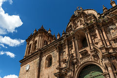 Cusco Cathedral in Cusco, Peru Royalty Free Stock Photography