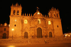 Cusco cathedral Stock Image