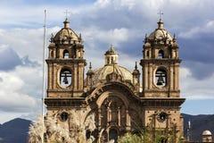 Cusco Cathedral in Peru Stock Image