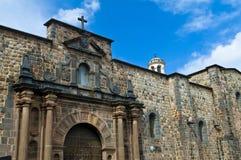 Cusco church of Santo Domingo Stock Images