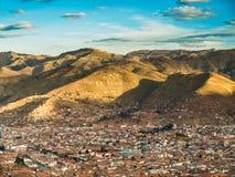 Cusco city Royalty Free Stock Photo