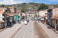 Cusco city life Royalty Free Stock Photography