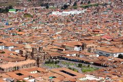 Cusco city Peru. This image shows the streets of Cusco, Peru Royalty Free Stock Photos