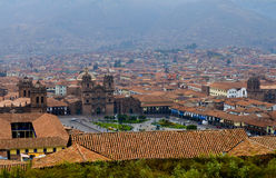 Cusco cityscape Stock Photos