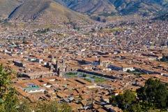 Cusco cityscape Stock Images