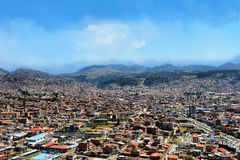 Cusco cityscape Royaltyfri Fotografi