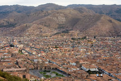 Cusco Cityscape Royalty Free Stock Images