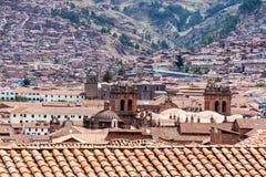 Cusco Cityscape Royalty Free Stock Photo