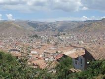 Cusco dachy zdjęcie royalty free