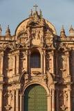Cusco katedra Zdjęcia Royalty Free
