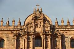 Cusco katedra Zdjęcie Royalty Free