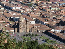 Cusco katedra - Peru obrazy royalty free
