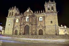 Cusco-Kathedrale, Peru lizenzfreie stockbilder