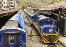 Cusco, Machu Picchu osady pociąg - Obraz Royalty Free