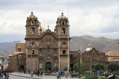CUSCO miasto Obraz Royalty Free