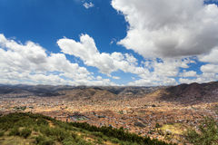 Cusco overlook Royalty Free Stock Image