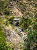Cusco Pérou de sentier de randonnée Photos libres de droits