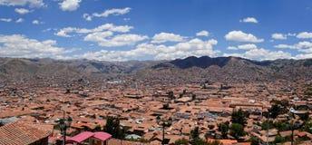 Cusco Peru överkant Arkivbilder