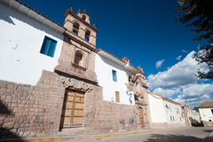 Cusco, Peru. THis image shows the streets of Cusco, Peru Stock Image