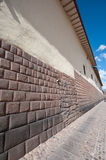 Cusco, Peru. This image shows the streets/pathways of Cusco, Peru stock photos
