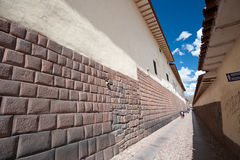 Cusco, Peru. This image shows the streets/pathways of Cusco, Peru Royalty Free Stock Photo