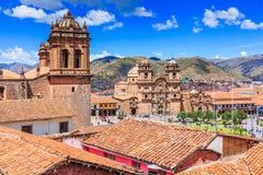 Cusco, Peru. Cusco, Peru the historic capital of the Inca Empire. Plaza de Armas royalty free stock images