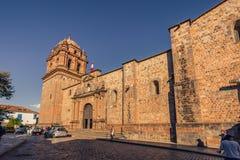 Cusco, Peru - July 31, 2017: Church of Santo Doming in the old t. Cusco, Peru - July 31, 2017: The Church of Santo Doming in the old town of Cusco, Peru stock images