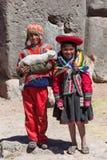 Native of Cusco royalty free stock photo