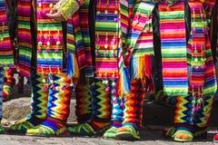 CUSCO - PERU - JUNE 06, 2016 : Peruvian dancers at the parade in Stock Photo