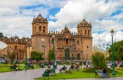 Cusco, Peru. The main square in Cusco, Peru Royalty Free Stock Photo