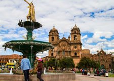 Cusco, Peru royalty free stock image