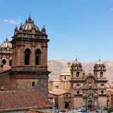 Cusco, Peru. Plaza de Armas stock photo