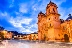 Cusco, Peru - Plaza de Armas Stock Photos