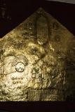 Cusco Peru South America Inca Art arbete i guld royaltyfria foton