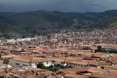 Cusco, peru. The traditional city of cusco in peru Royalty Free Stock Photo